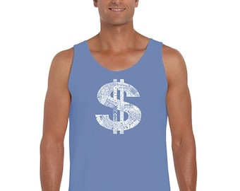 Men's Tank Top - Dollar Sign