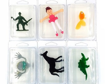 Glycerin Soap with Toy 3-pack