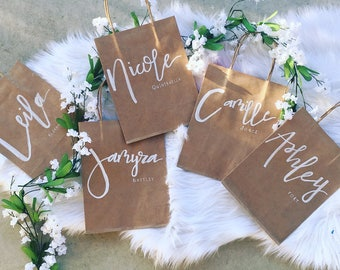 Personalized Calligraphy Gift Bag