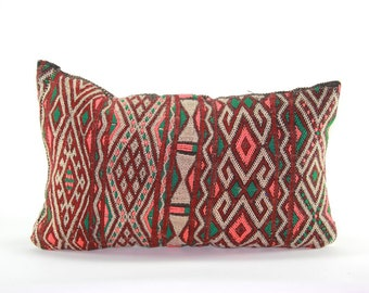 Vintage Moroccan Kilim Pillow