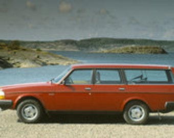 Volvo 240 PDF Cross Stitch Pattern