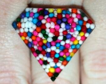 Sprinkle Jewelry - Sprinkle Ring, Necklace, Earrings