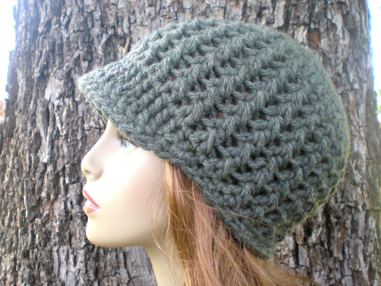 PATTERN: Amsterdam Hat, Easy crochet PDF, Adult/ teen, newsboy ...