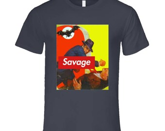 Black Bat - Savage T Shirt
