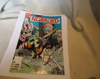 Vintage 1987 Enter The Lost World Of The Warlord Aug #120 DC Comic, collectable