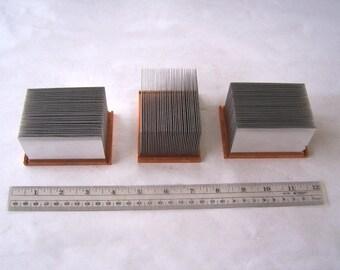 Copper Stainless Steel Computer Heatsinks, CPU Heat Sinks, Computer Chip Heat Sinks, Geek and Nerd Art Supply, Heat Sinks, Techie Supply