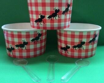 Picnic Ice Cream Cups