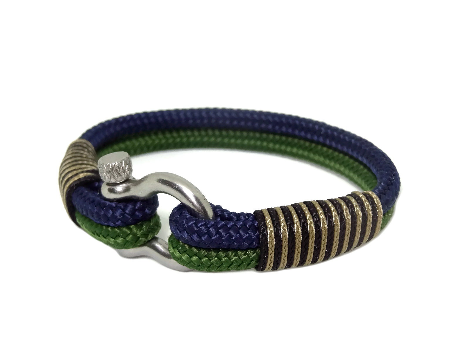blue fullxfull double listing nautical knot white infinity il zoom navy and bracelet rope