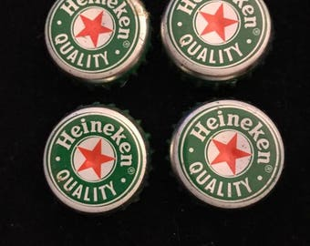 Heineken Bottle Cap Magnet set