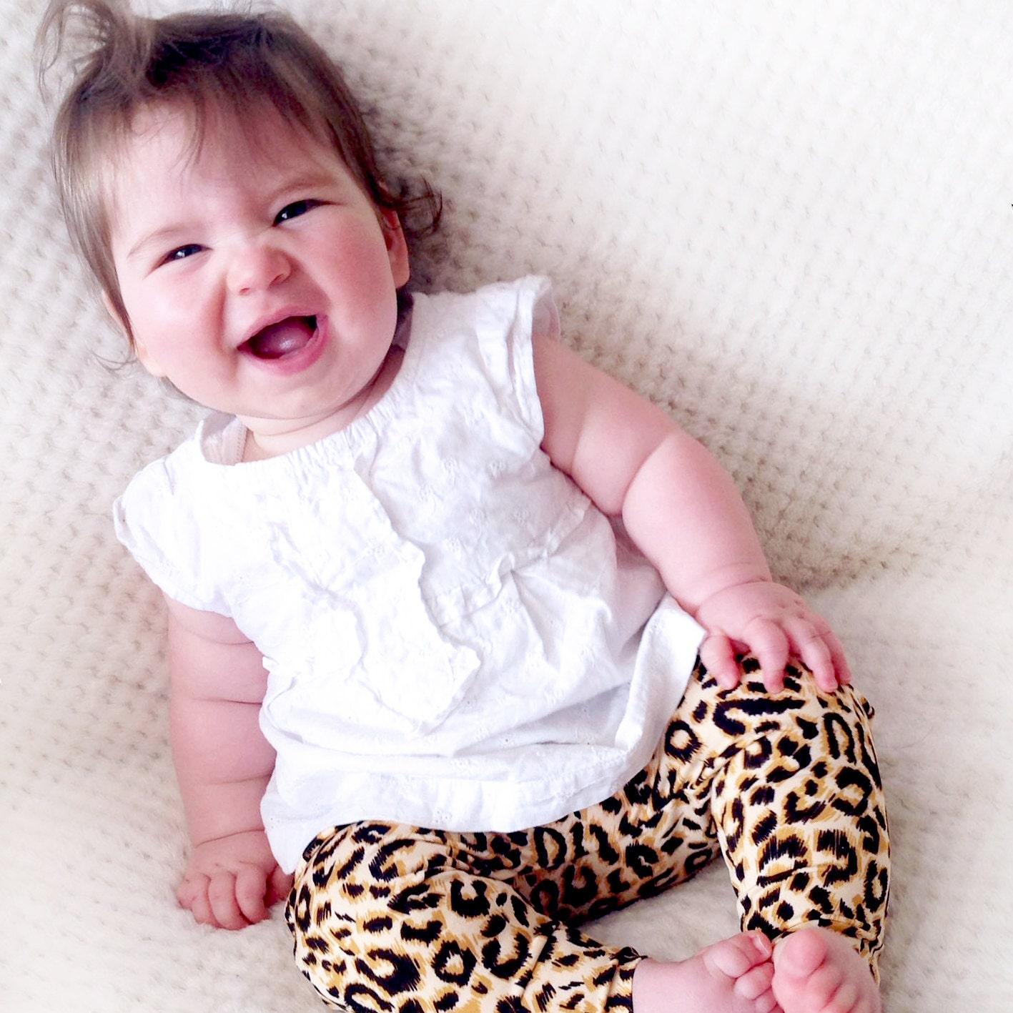 baby leopard leggings leggings for babies leggings for
