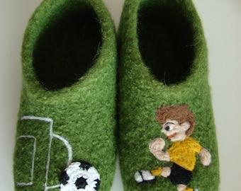Kids football felt shoes Indoor shoes