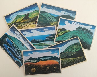 South Downs Card Pack