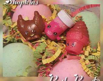 Shopkins Surprise Bath Bomb Egg Fizzies - One Dozen Eggs - Easter Basket Fun