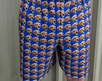 Put Your Pet all over Shorts - Custom Pet Shorts - Custom Clothing - Dog Shorts - Cat shorts