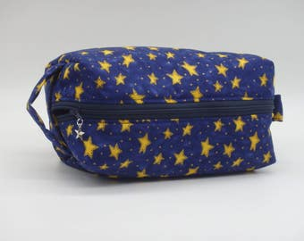 Rock Star Pouch, Movie Stars Bag, Zip Pouch, Ditty Bag, Toiletry Kit, Cosmetics Case, Shave Bag, Travel Case, Gifts for Astronomers