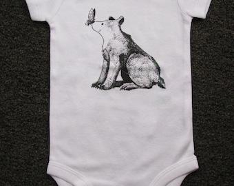 Cute Baby bodysuit, Unique Baby clothes, Baby bear, Baby Bodysuit, Kids Clothes, Teddy bear baby, Bear, Animal baby clothes