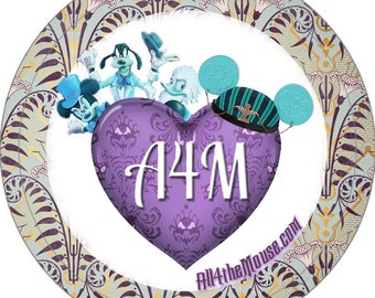 A4M Haunted Mansion Buttons