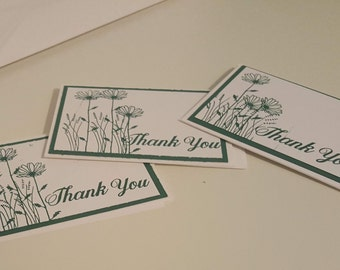 Set of Thank you notes