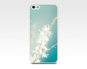 iphone 6 case 4s iphone 5 5s dandelion iphone case abstract iphone case botanical fine art 4 iphone case 5 5s nature photography teal blue