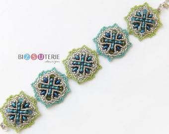 Capri bracelet - instant download beading pattern