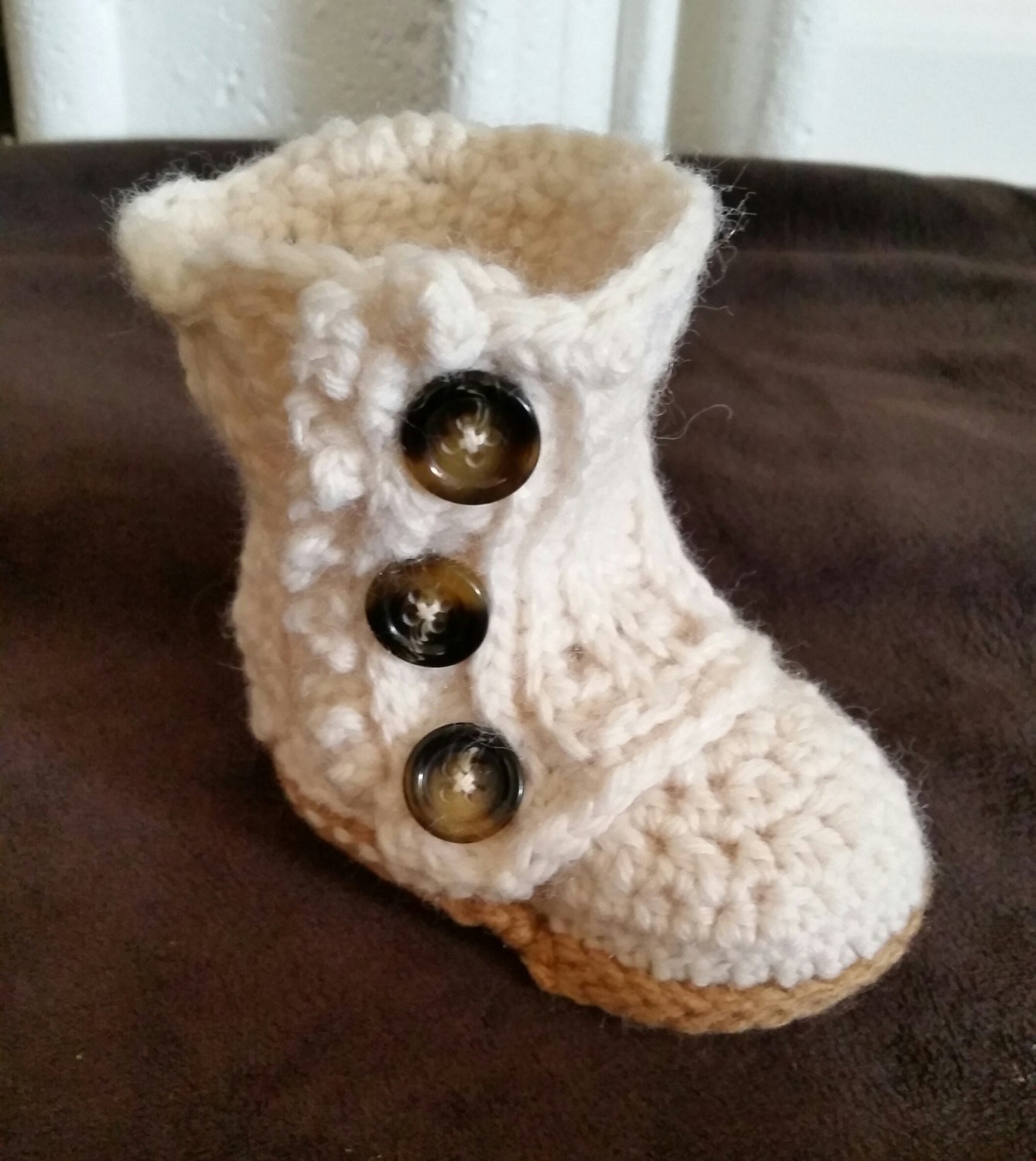 Baby boots baby wrap boots crochet baby booties baby shoes