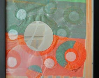Orange and Green Circles
