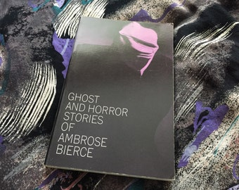 Ambrose Bierce | Ghost and Horror Stories Algernon Blackwood Arthur Machen Dover 1963 Weird Lit Supernatural American RARE