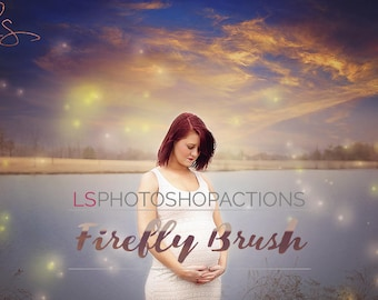 LS Firefly Photoshop Brush