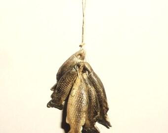 Dollhouse miniature 1:12 A bunch of fish! Fresh fish!