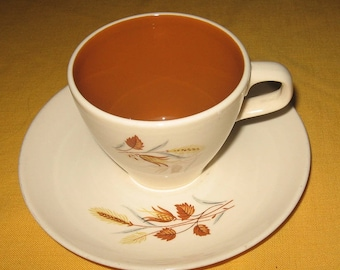 Autumn Harvest cup and saucer set