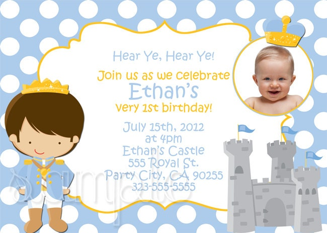 Little prince birthday invitation zoom filmwisefo