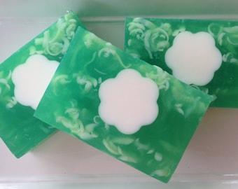 Gardenia - handcrafted glycerin soap