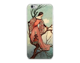 Fairy Tale Phone Case | 1913 Warwick Goble Vintage Print | iPhone 6/6s, 7/7 Plus, 8/8 Plus, X Case