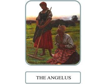 The Angelus Prayer Card