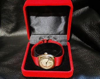 Tissot 14K Watch,  Vintage 1943, Solid Gold Men's Nonmagnetic Watch