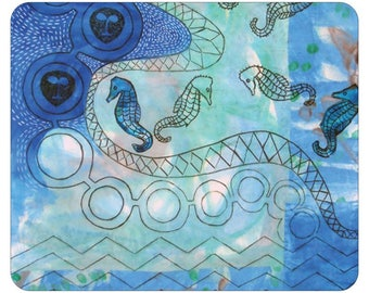 Mouse Pads -  Seahorse Series from artist's original art.