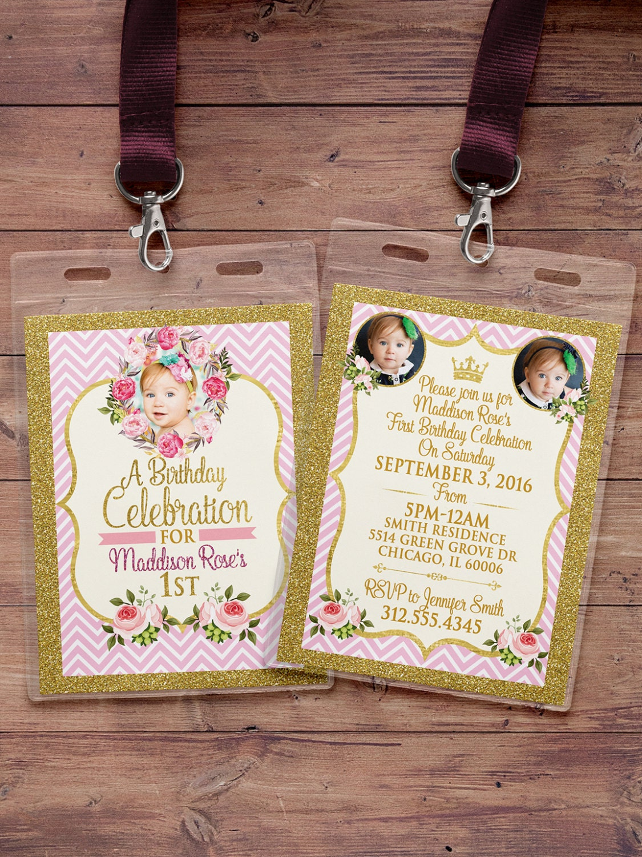 Any age princess invitations princess birthday party invitations any age princess invitations princess birthday party invitations first birthday 1st birthday vip pass quinceanera sweet 16 floral stopboris Choice Image