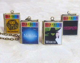 Pride Playbill Story Locket