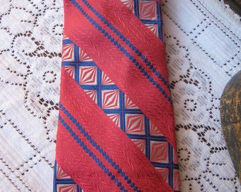 Vintage Oscar de la Renta Necktie-REDUCED from 15.00