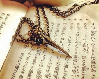 Plague Doctor Necklace