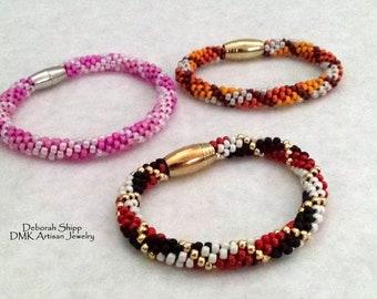 Kumihimo Tartan Bracelet Tutorial