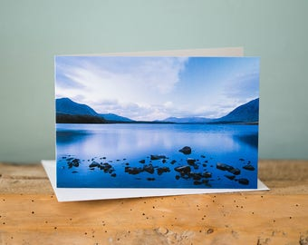 Greetings Card - Lough Inagh, Ireland - Landscape