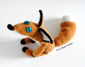 CROCHET PATTERN - My cutie fox amigurumi
