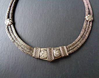 old at vintage rs tribal necklace proddetail silver traditional dholki look