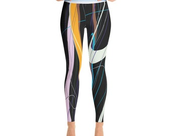 SGRIB Print Women's Fashion Yoga Leggings - xs-xl sizes - design 43