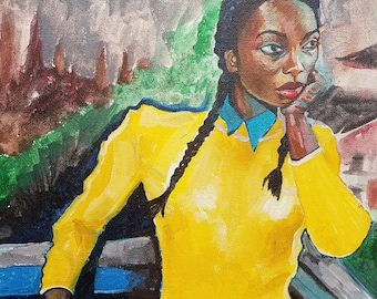Chewing Gum, Lady in Yellow