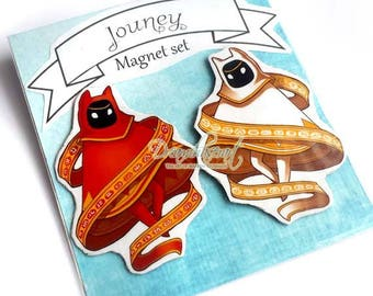Journey Magnet Set of 2