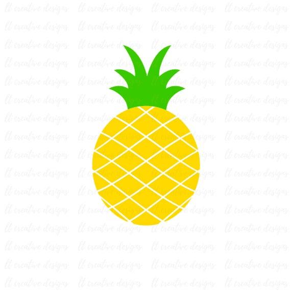 pineapple svg pineapple clipart pineapple cutting file rh etsy com clip art pineapple upside cake pineapple clipart images