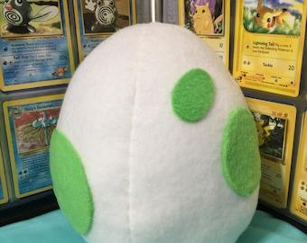 Pokemon Egg Plush (Pokemon Go Eggs Available!)