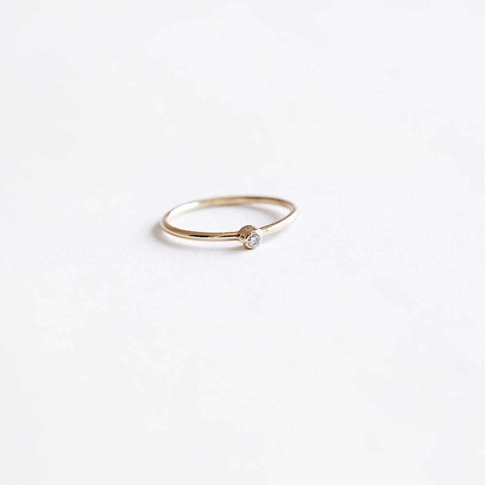 Simple ring Dainty gold ring simple gold ring Silver ring